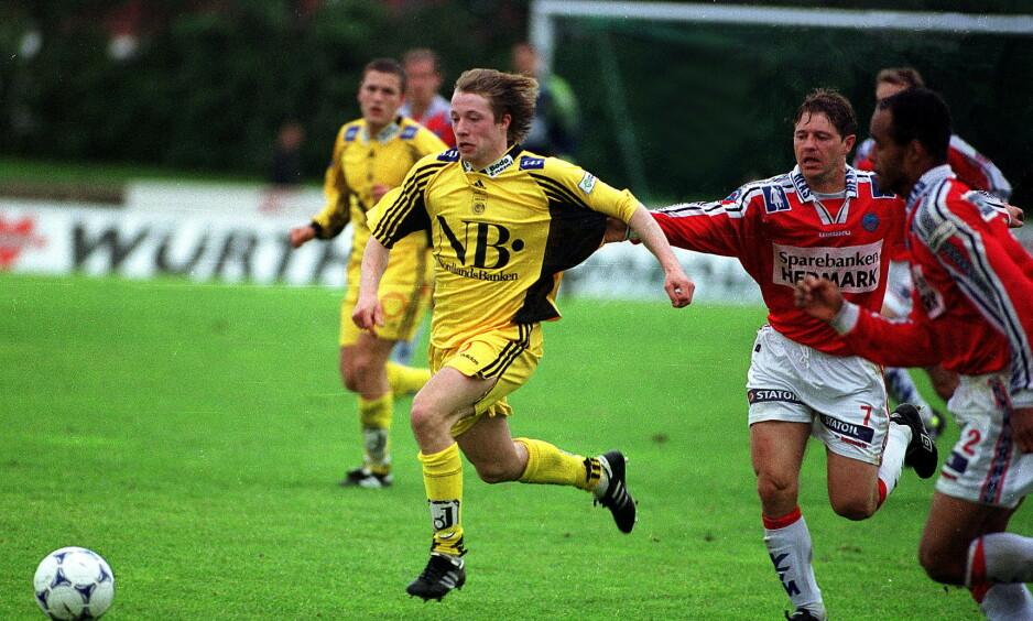 TALENT: Arild Berg var et helt unikt fotballtalent. Arkivfoto: LUNDE,BJØRN ERIK RYGG