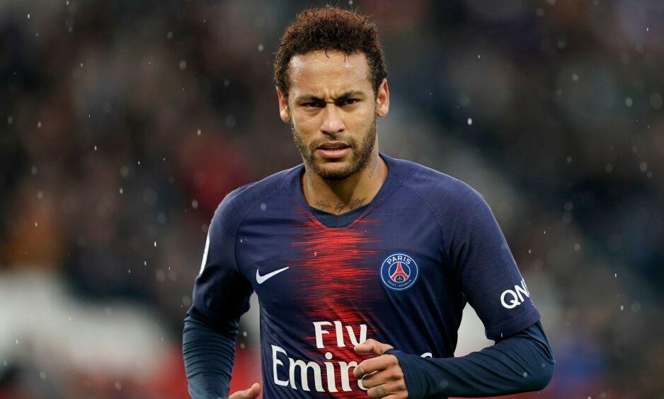RYKTES BORT: Neymar kan ha spilt sin siste kamp for PSG, skal vi tro spanske medier. Foto: Lionel Bonaventure / AFP / NTB Scanpix