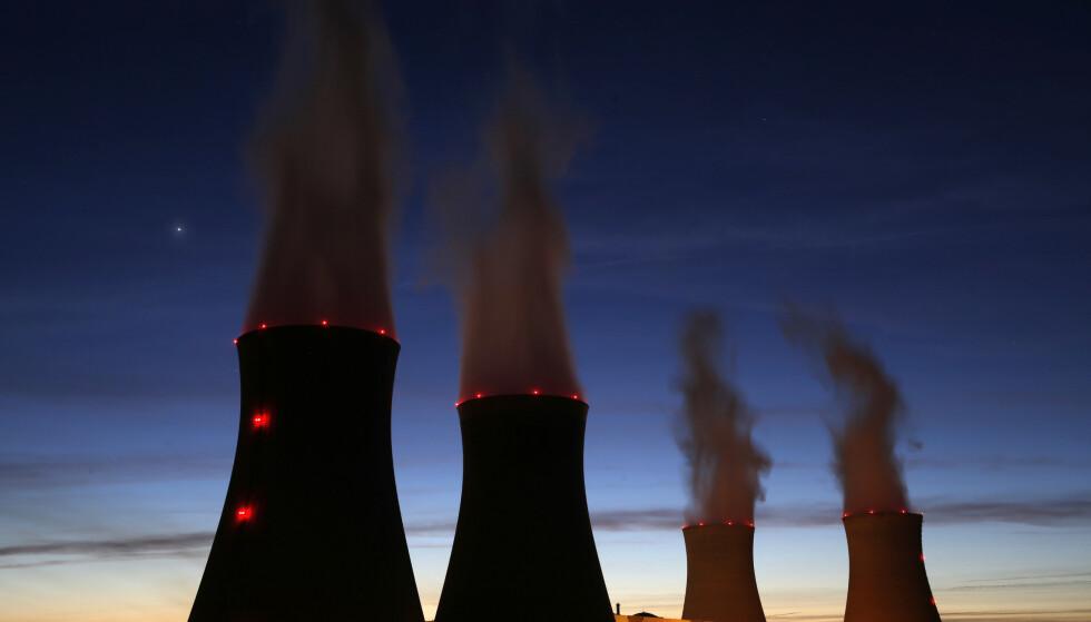 MÅLTE RADIOAKTIVITET: Direktoratet for strålevern og atomsikkerhet har funnet spor av radioaktive stoffer i lufta over Finnmark. Illustrasjonsfoto: Christian Hartmann / Reuters / NTB Scanpix