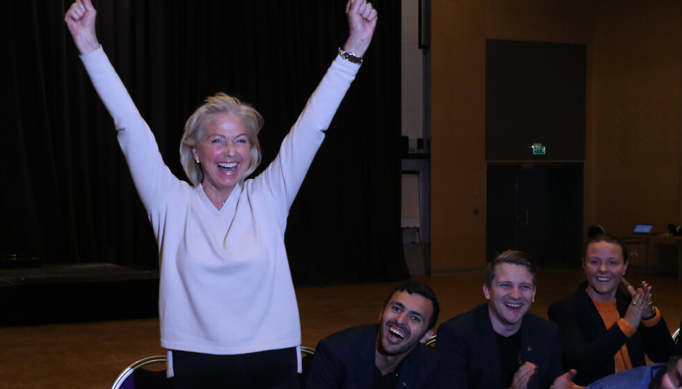 STOPPER SEG SELV: Den nyvalgte idrettspresidenten er uten troverdighet når hun angriper sjakkmiljøet for å blande frivillighet med PR-byråer og lobbyister. Foto: Geir Olsen / NTB scanpix