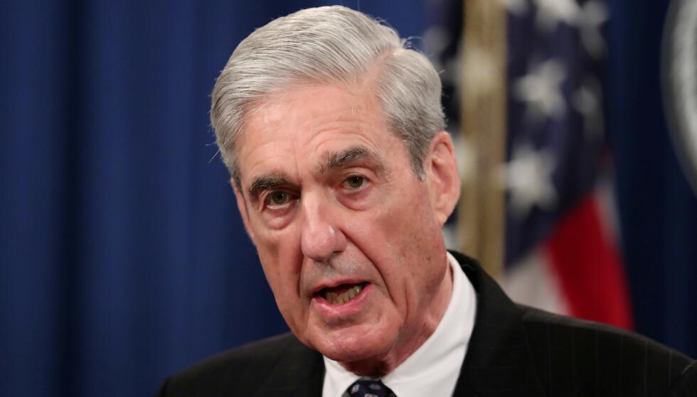 VIL AVGI VITNEMÅL: Spesialetterforsker Robert Mueller. Foto: REUTERS / Jim Bourg / NTB scanpix