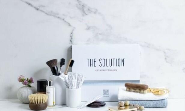 100 PROSENT RENT KOLLAGENPULVER: The Solution er et smakløst kollagenpulver uten tilsetningsstoffer som pleier huden innenfra.