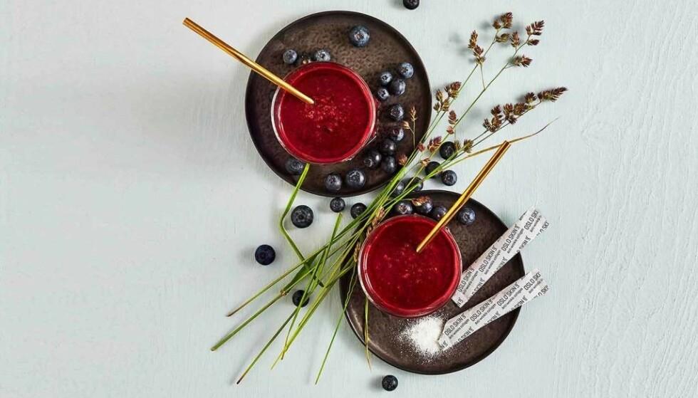 SMAKFRITT: The Solution kan brukes i smoothie, kaffe eller hva med bare et glass vann?