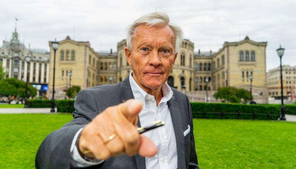 TILBAKE: Sluggeren innen norsk politisk debatt, Oddvar Stenstrøm, skal lede Dagbladets valgbod til høsten. Foto: Per Ervland / Dagbladet