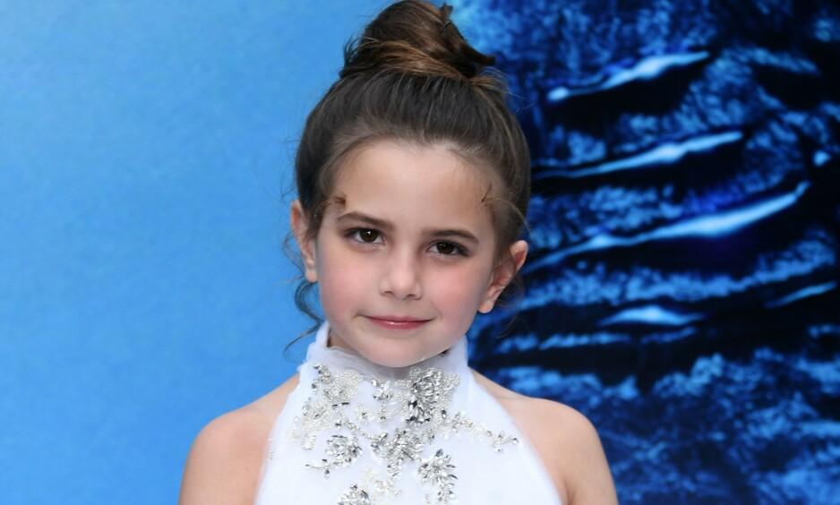 SUKSESS: Lexi Rabe er bare sju år gammel. Denne sommeren er hun likevel å se i to storfilmer, og flere er under produksjon. Men livet som kjendis byr også på utfordringer for den lille jenta. Foto: NTB Scanpix