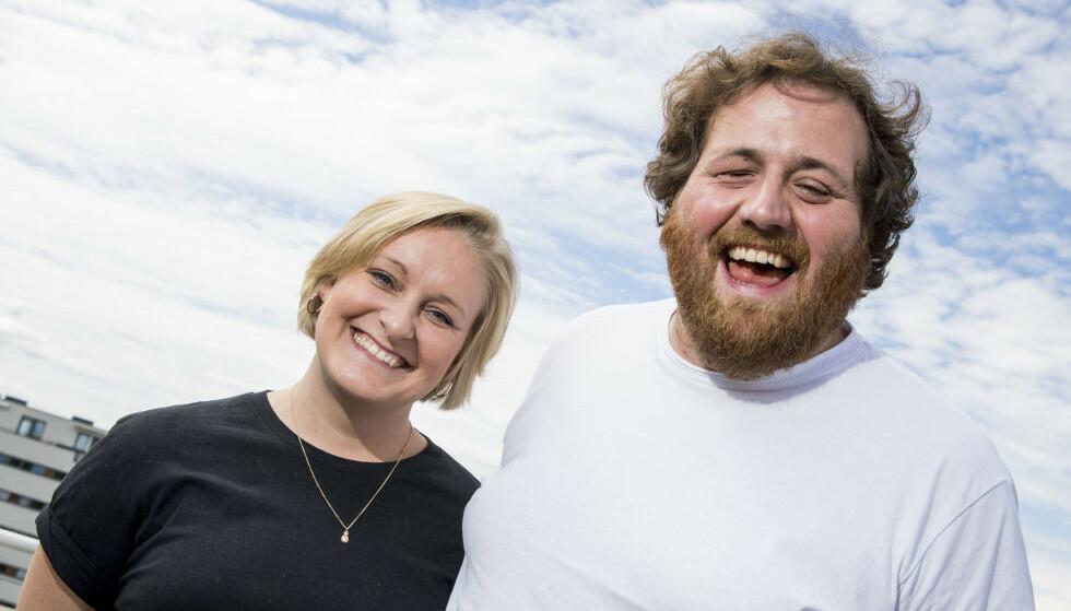 SAMBOERE: Tuva Fellman og Ronny Brede Aase ble samboere etter fem år i avstandsforhold i fjor. I år skal de derimot ikke på ferie sammen. Foto: NTB Scanpix