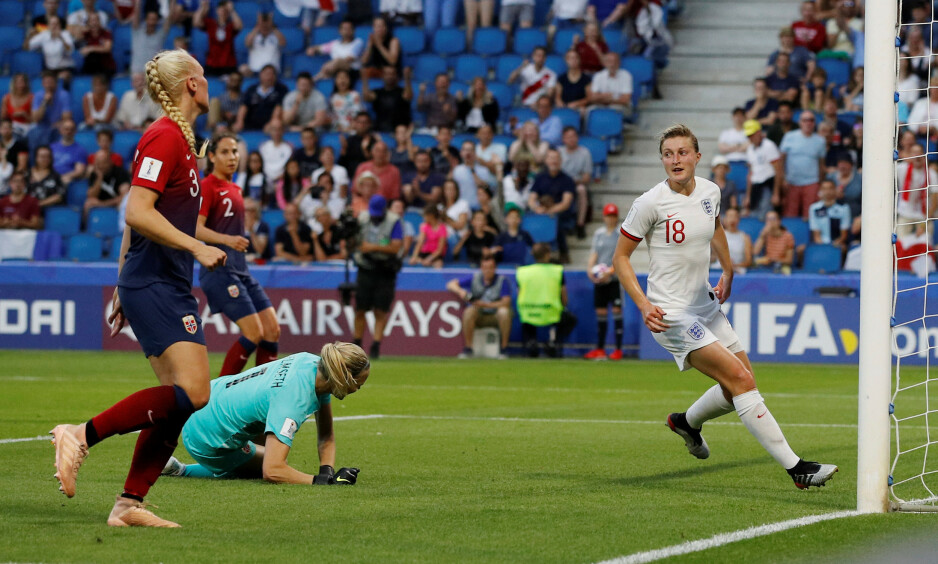 TAPTE: England ble noen nummer for store for Norge. Foto: REUTERS / Phil Noble / NTB Scanpix