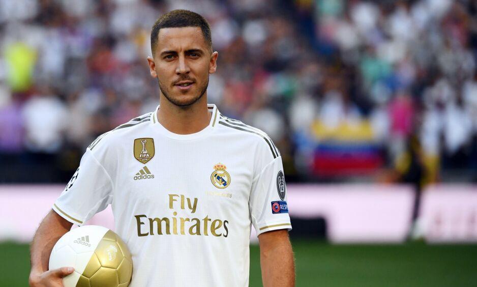 GALACTICO: Eden Hazard er Real Madrids nye superstjerne. Foto: AFP.