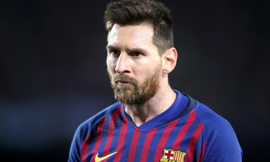 REVANSJELYSTEN: Lionel Messi talte til fansen og ville bringe Champions League-trofeet tilbake til Camp Nou. Han får en ny sjanse kommende sesong. Foto: PA Photos.