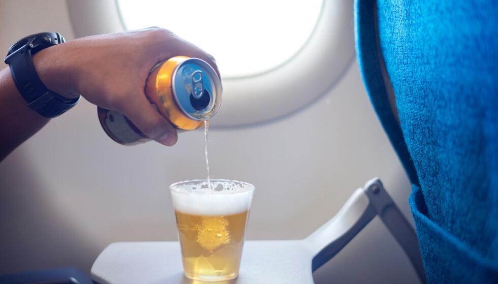 PROBLEMER: Antallet uregjerlige flypassasjerer øker dramatisk, ifølge en ny oversikt. Foto: Shutterstock/NTB Scanpix