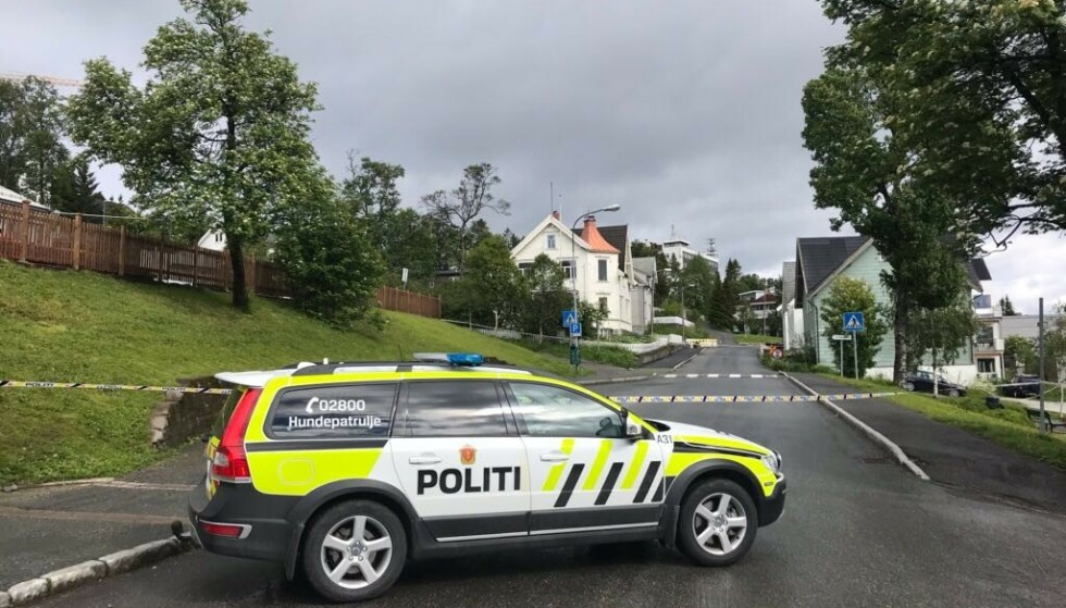 TROMSØ: Det var her kvinnen skal ha blitt funnet i nærheten av Tromsø sentrum. Foto: Ingun A. Mæhlum