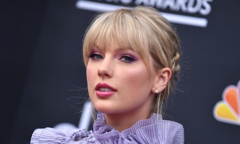 HEVDER HUN BLIR MOBBET: Taylor Swift. Foto: NTB Scanpix