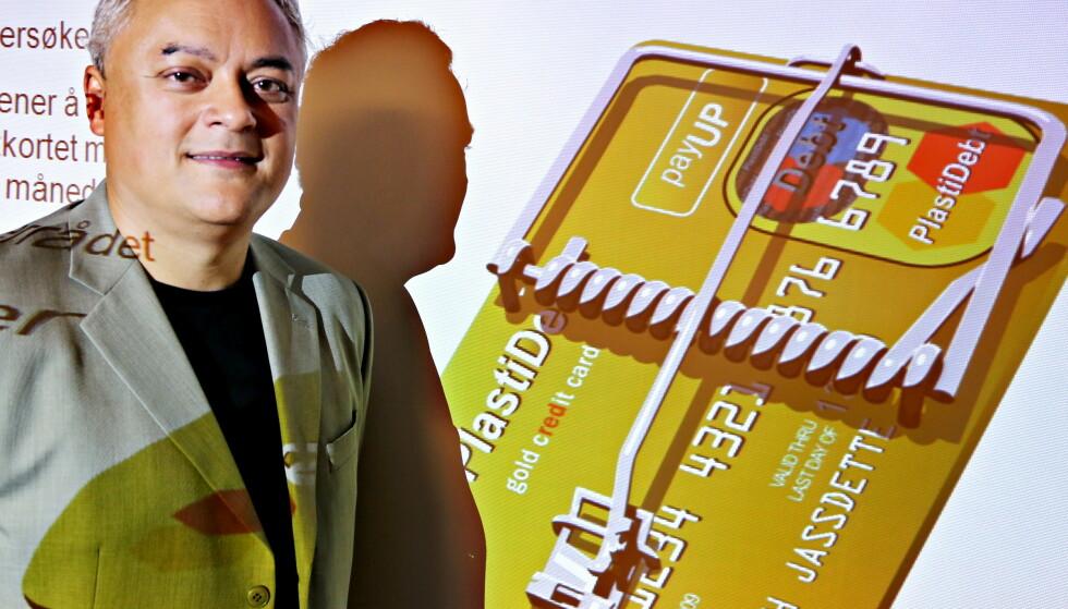 KREDITT BLIR GJELD: Rydd opp i kredittgrenser, er rådet fra fagdirektør for finans i Forbrukerrådet, Jorge Jensen i forbindelse med innføring av nye gjeldsregistre fra 1. juli. Foto: Jacques Hvistendahl/Dagbladet.
