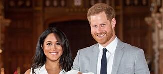Meghan og Harrys dåpsplaner vekker harme