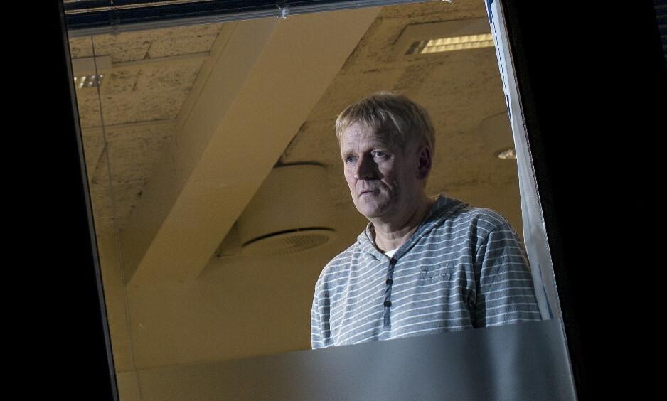 VIL BEVISSTGJØRE: Lensmann Tor Kristian Haugan vil bevisstgjøre bilistene om de potensielle konsekvensene ved varsling. Foto: Tomm W. Christiansen / Dagbladet
