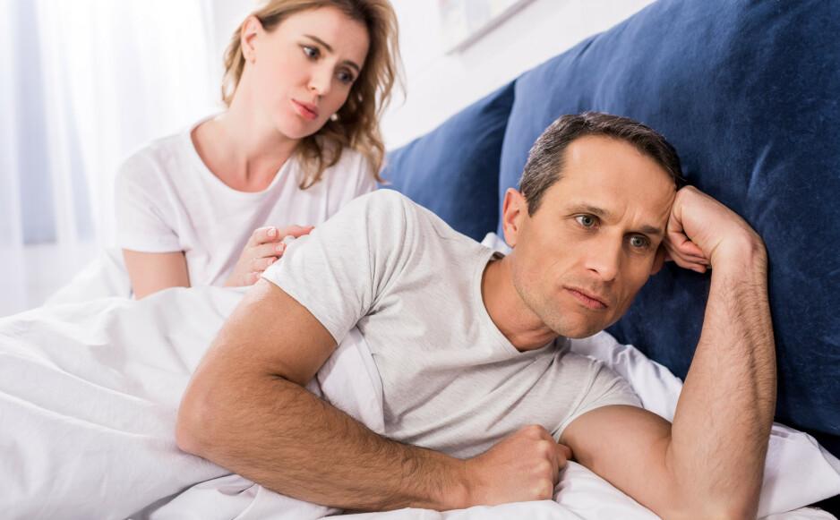 FORT GJORT: For tidlig sædavgang rammer mange menn. Det kjennetegnes ved at utløsningen kommer i løpet av 55 sekunder. I denne artikkelen kommer sexolog Bente Træen med tips på øvelser du kan gjøre for å trene deg til å utvikle kontroll over sædavgangen. Foto: NTB Scanpix / Shutterstock