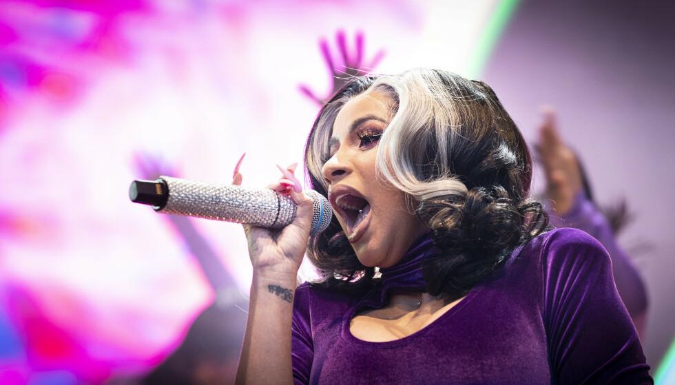 ANMELDELSE: Tirsdag kveld holdt Cardi B konsert på hovedscenen på Kadetten i Sandvika.