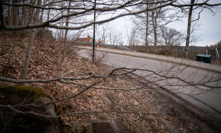 ÅSTED: Det var her overfallsvoldtekten fant sted 24. mars i år. Foto: Øistein Norum Monsen / Dagbladet