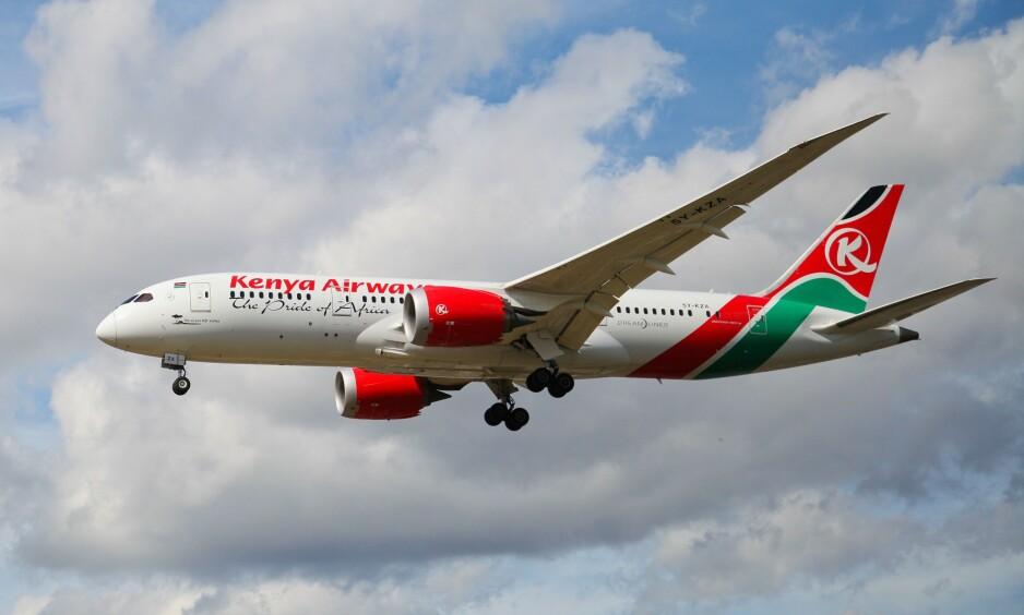 ETTERFORSKER: Kenyanske myndigheter jobber for å identifisere mannen som falt fra et fly over London mandag. Foto: NTB Scanpix