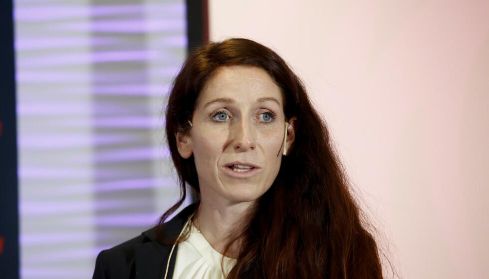 FORNØYD: Lise Klaveness sier det er et nødvendig grep å øke satsingen. Foto: Vidar Ruud / NTB scanpix