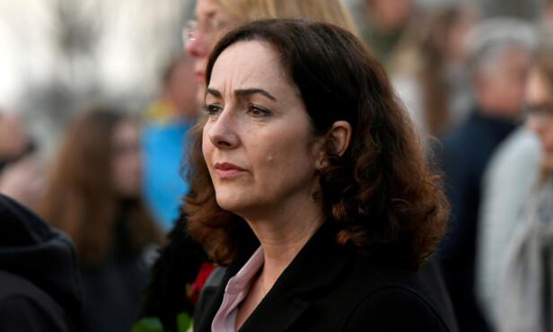 BORGERMESTER: Femke Halsema ble valgt som den første kvinnelige borgermesteren i Amsterdam 12 juli i fjor. Foto: Piroschka Van De Wouw / Reuters