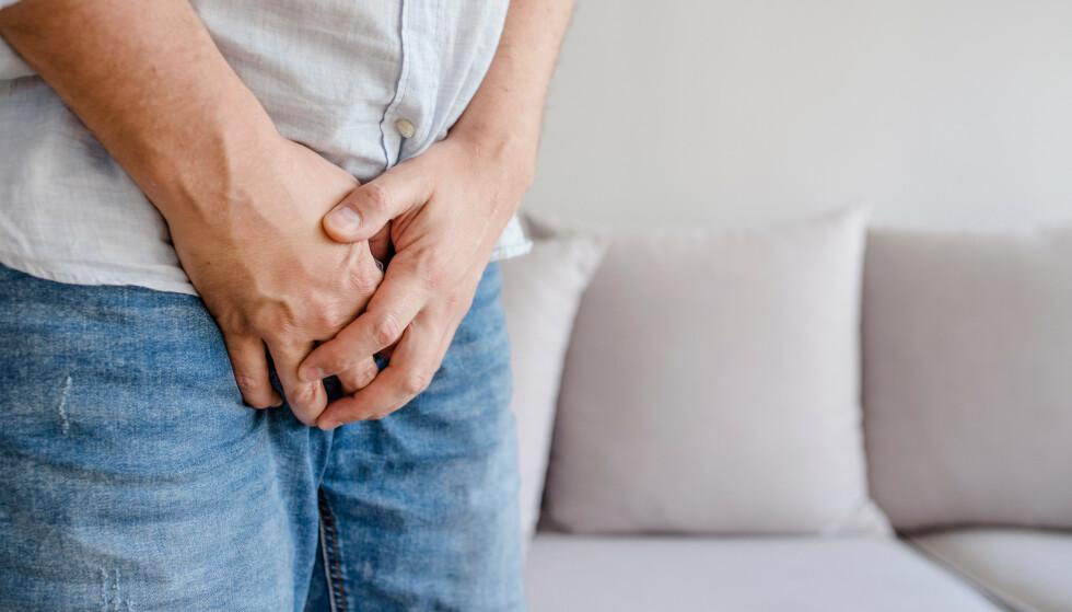 GRUNN TIL BEKYMRING: Mange menn blir bekymret når de oppdager forandringer på penis, og det kan være mange ulike tilstander. Foto: NTB Scanpix
