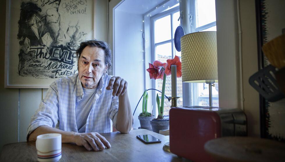GIKK BORT: Musikeren Paolo Vinaccia er død. Foto: Anders Grønneberg / Dagbladet