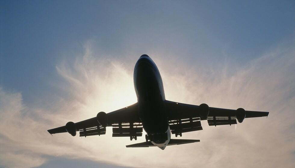 KVOTE: Kun to enkeltreiser hvert andre eller tredje år er bærekraftig. Her går rutefly inn for landing på Heathrow, London i 2016. Foto: Shutterstock / NTB Scanpix
