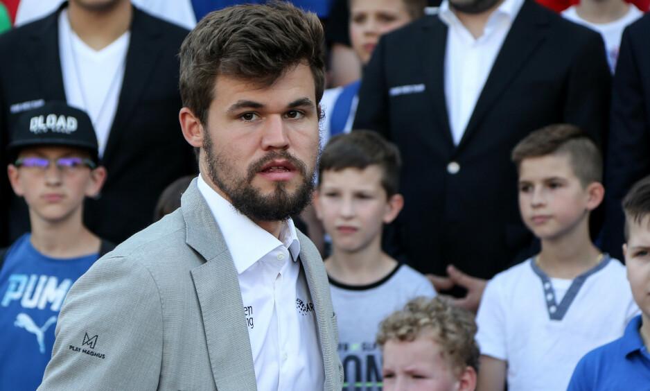 EN REN TABBE: Magnus Carlsen ødela sin egen plan fordi han kjøpte stemmer før sjakktinget. Det var verdensmesteren selv som fikk sjakkmiljøet til å si nei til sponsoravtale med utenlandsk spillindustri. FOTO: Marion Tironi/Pixell.