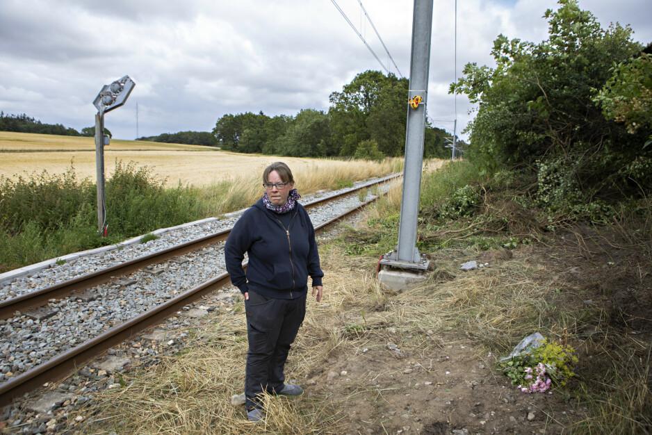 SJOKKERT: Line Ostenfeldt sier til Dagbladet at hun var den siste som så den norske familien før ulykken. Foto: Frank Karlsen / Dagbladet