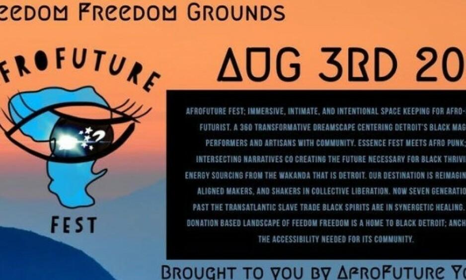 KONTROVERSIELLE PRISER: Den amerikanske musikk- og kunstfestivalen, AfroFuture Fest, har lagt ut billigere billettpriser til mørkhudede enn lyshudede. Foto: Skjermdump