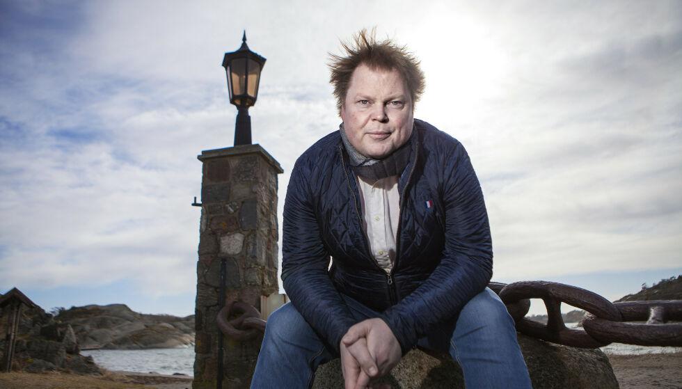 KRITISK: Jeg synes utgangspunktet er nokså misforstått, sier forfatter Jørn Lier Horst om den omstridte Staunch-prisen. Foto: Anders Grønneberg / Dagbladet