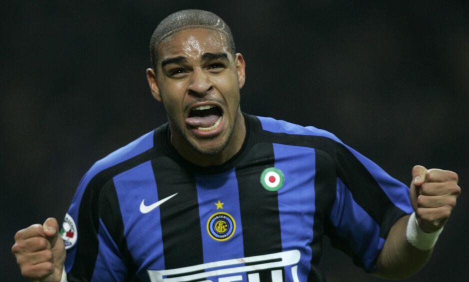 TRAGEDIE ØDELA: Adriano slet med alkoholproblemer etter at hans far døde brått. Foto: AP Photo / Luca Bruno / NTB Scanpix
