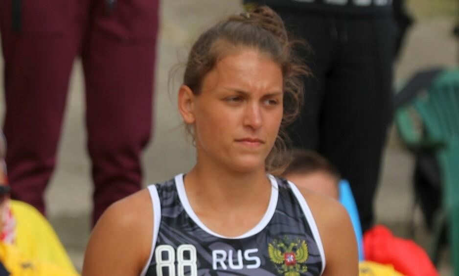 OMKOM: Den russiske håndballspilleren Jekaterina Koroleva ble funnet død søndag, etter en svømmeulykke under sandhåndball-EM i Polen. Foto: Marcus Cyron