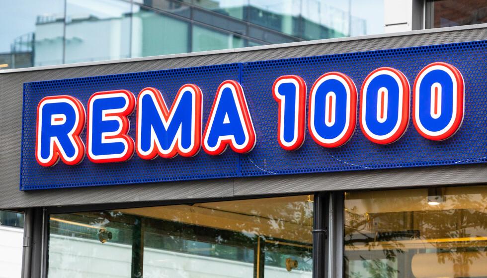 Oslo  20180731. Logo til dagligvarekjeden Rema 1000. Foto: Audun Braastad / NTB scanpix
