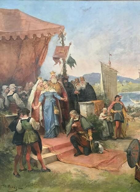Da Kristina fra Tunsberg ble giftet bort i Spania