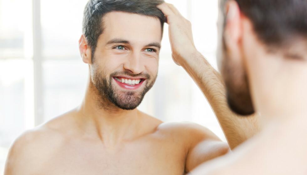 EFFEKT: Effekten av middelet som beviselig gir fyldigere hår ble oppdaget ved en tilfeldighet. Foto: Shutterstock / NTB scanpix