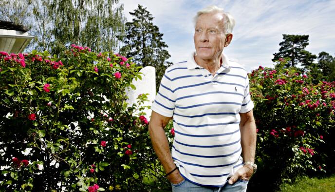 FÅ DET FRAM: Tidligere journalist og programleder Oddvar Stenstrøm. Foto: Kristian Ridder-Nielsen / Dagbladet