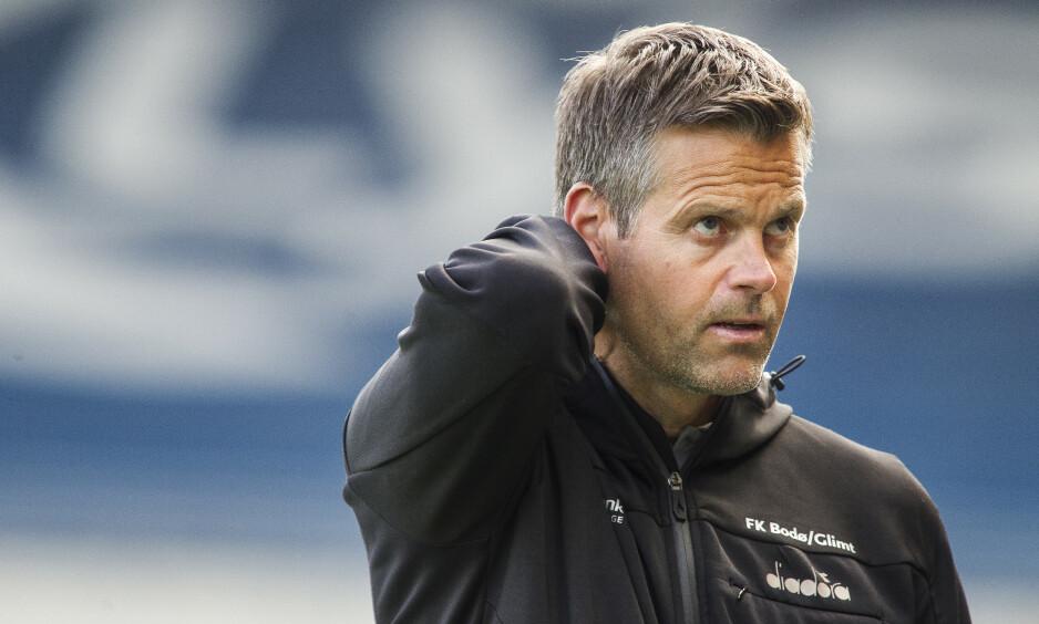 FORLENGET: Kjetil Knutsen er klar for tre nye år i Bodø/Glimt.  Foto: Carina Johansen / NTB Scanpix