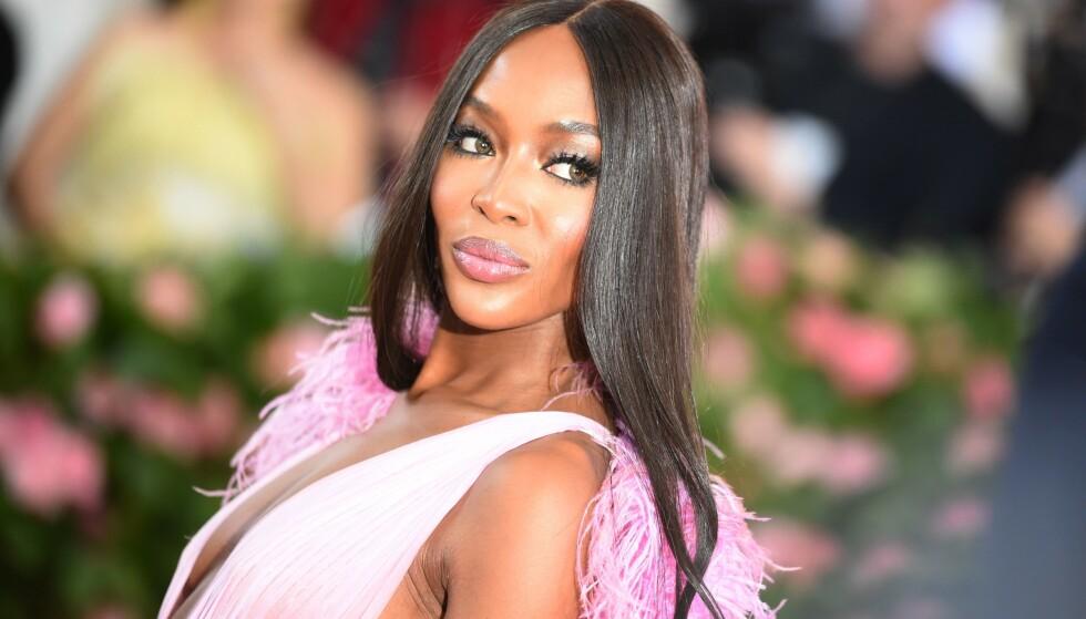SPESIELLE MATVANER: Supermodellen Naomi Campbell fortalte nylig om matvanene sine, der hun avslørte at hun kan droppe å spise mat opptil to ganger i uka. Det får en norsk ernæringsfysiolog til å reagere. Foto: NTB Scanpix