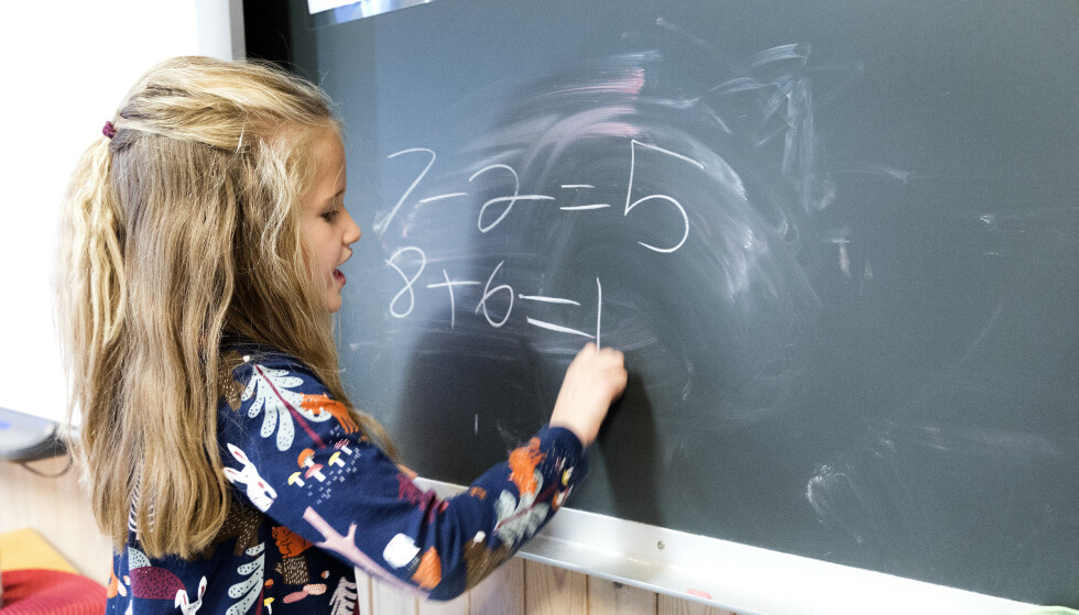AVGJØRENDE FOR LÆRING: Vi vet at de fleste i barneskolene og store deler av elever i grunnskolen har med sunne matpakker hjemmefra, skriver artikkelforfatteren. Foto: Gorm Kallestad / NTB scanpix