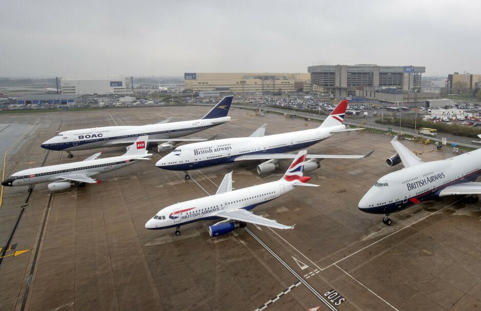 STORSTREIK: Fagforeningen Unite varsler storstreik ved Heathrow i sommer. Foto: NTB Scanpix