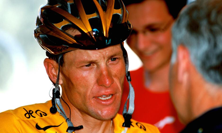 BRUKES SOM EKSPERT: Lance Armstrong har gitt små ekspertanalyser på NBCs Tour de France-sendinger i år. Det er ikke alle like fornøyde med. Foto: Rex / Shutterstock / NTB Scanpix