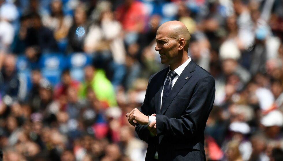TRAGEDIE: Real Madrid-trener Zinédine Zidanes storebror, Farid, omkom etter kort tids sykeleie. Foto: NTB Scanpix