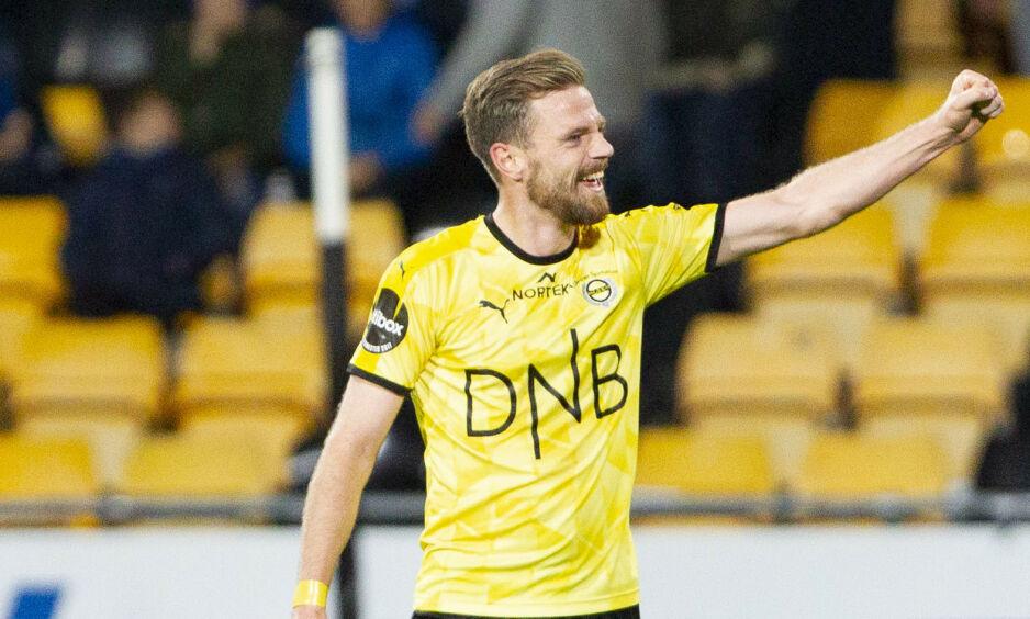 HELT: Lillestrøms Arnór Smarason scoret to mål mot Strømsgodset og var kampen store spiller. Her fra kamp mot Stabæk i fjor. Foto: Fredrik Hagen / NTB scanpix