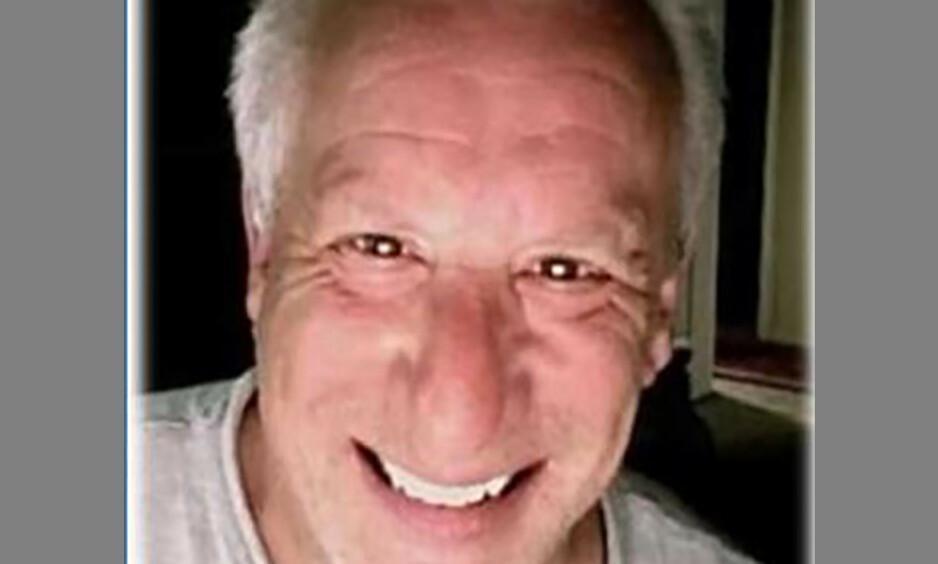 SAVNET: Skuespiller Charles Levin (70) har vært savnet i en uke. Foto: Grants Pass Department of Public Safety via AP