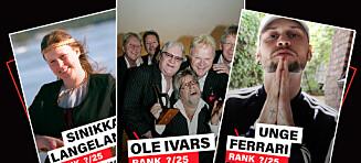 De 25 beste artistene fra Hedmark