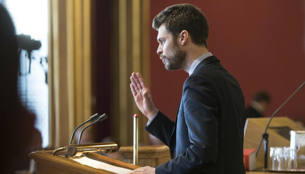 FOLKEFORSLAG: Rødt vil la vanlige borgere fremme forslag for Stortinget. Foto: NTB Scanpix