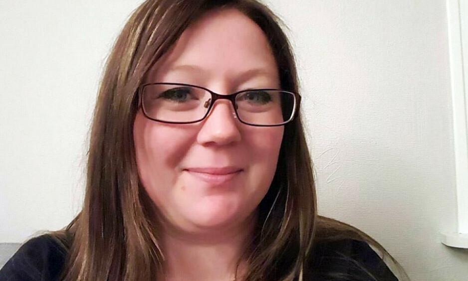 FORTVILET: Caroline Linnea Kopstad Heidisdatter (35) har Crohns sykdom og blir hardt rammet av de nye endringene innen blå resept. Foto: Privat