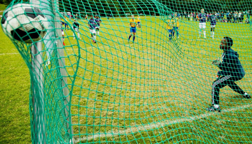 SAMLER MANGE: Norway Cup starter 27. juli og samler flere tusen barn og unge på Ekebergsletta i Oslo. Foto: NTB Scanpix